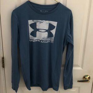 UNDER ARMOUR Long sleeved Tee T-shirt Men's sz SM